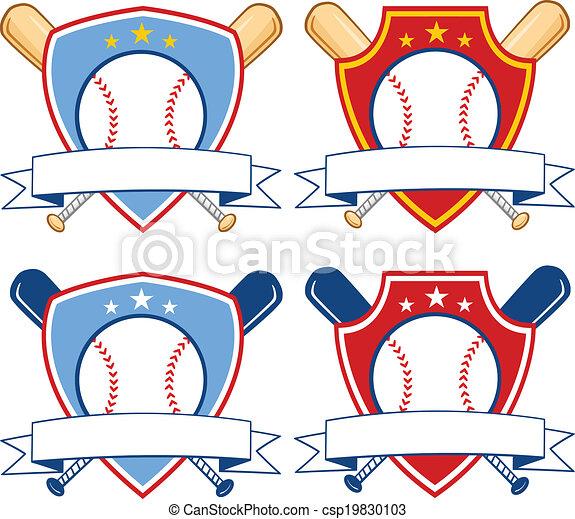 Baseball Banners 2  Collection Set - csp19830103