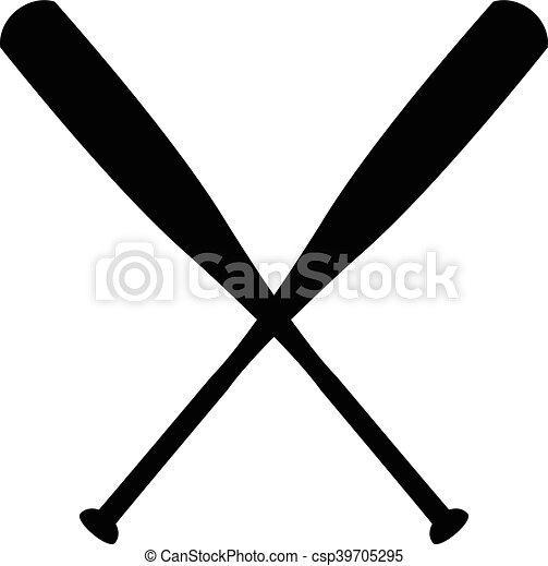 baseball bat vector eps vectors search clip art illustration rh canstockphoto com Baseball Bat Vector Silhouette Baseball Bat and Ball