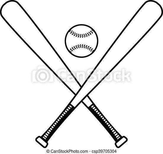 baseball bat vector vector clipart search illustration drawings rh canstockphoto com Baseball Bat Vector Silhouette Vector O Baseball Bat