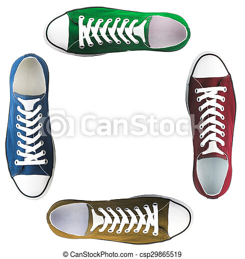 baseball boots sneakers different colors - csp29865519