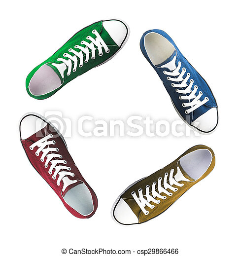 baseball boots sneakers different colors - csp29866466