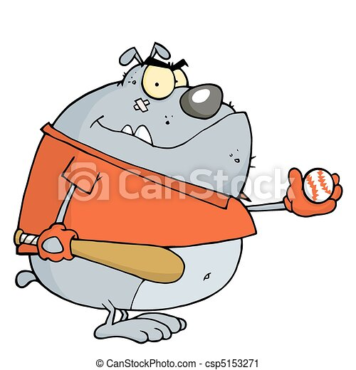 Baseball Bulldog  - csp5153271