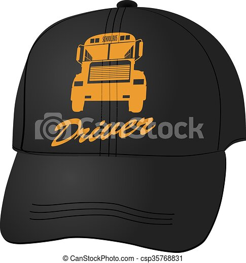 bus driver hat icon