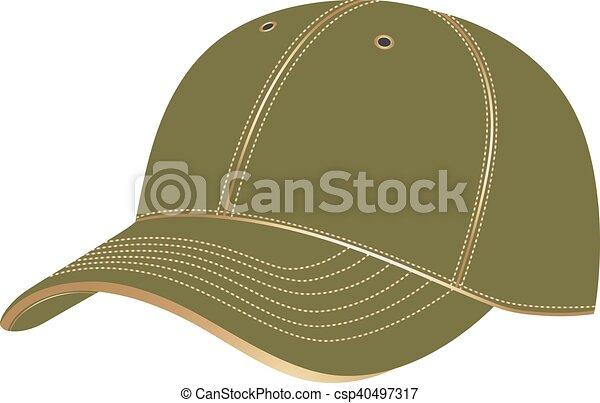 baseball cap vector baseball cap in vector on white background rh canstockphoto com baseball cap vector eps baseball cap vector eps