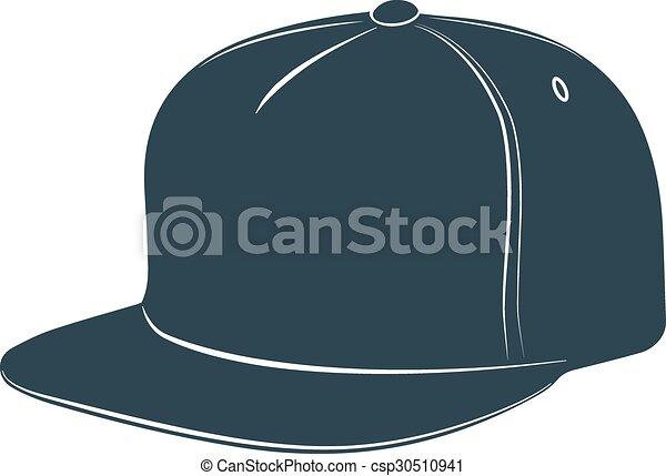 baseball cap visor headgear hat accessory - csp30510941