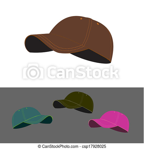 Baseball caps collection - csp17928025