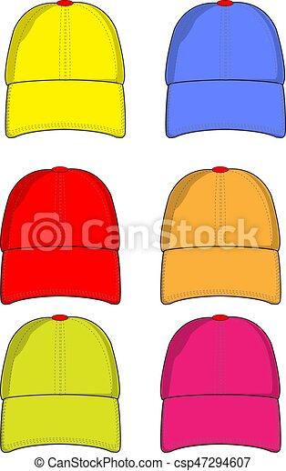 Baseball caps color - csp47294607