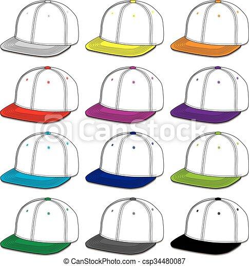 Baseball Caps - csp34480087