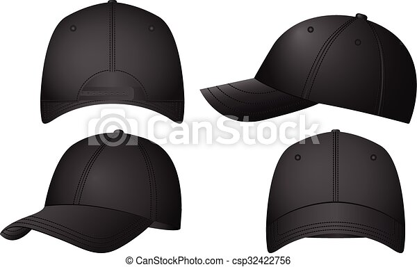 Baseball caps set - csp32422756