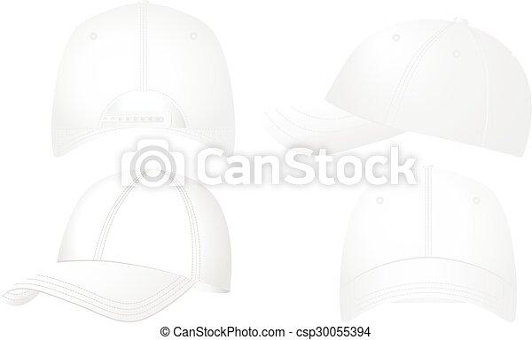 Baseball caps set - csp30055394