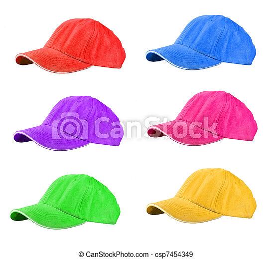 Baseball Caps - csp7454349