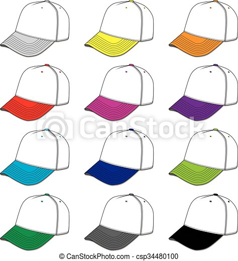 Baseball Caps - csp34480100