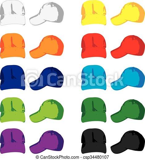 Baseball Caps - csp34480107