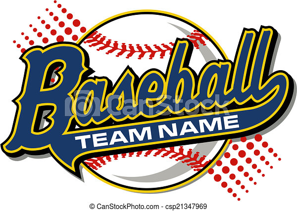baseball design with tail - csp21347969
