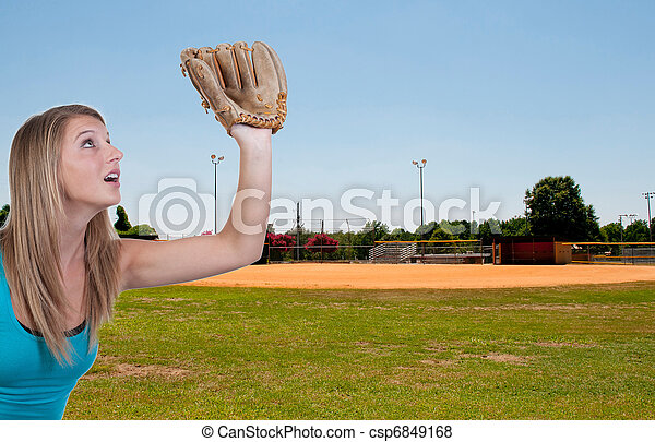 Baseball Field - csp6849168