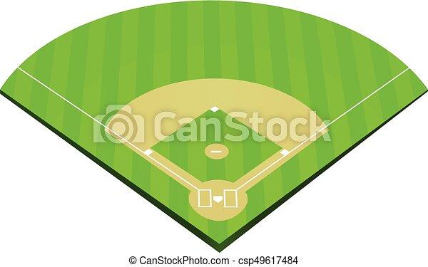 baseball field vector vector search clip art illustration rh canstockphoto ca Baseball Field Diagram baseball field clipart black and white