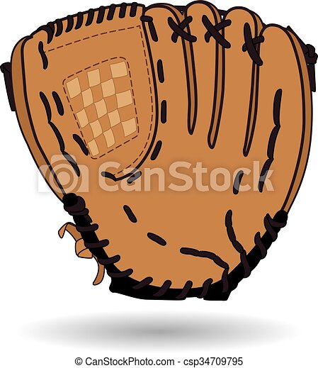Baseball glove - csp34709795