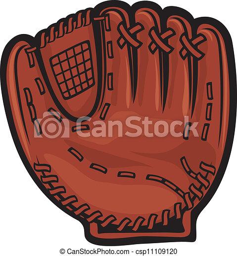 baseball glove - csp11109120