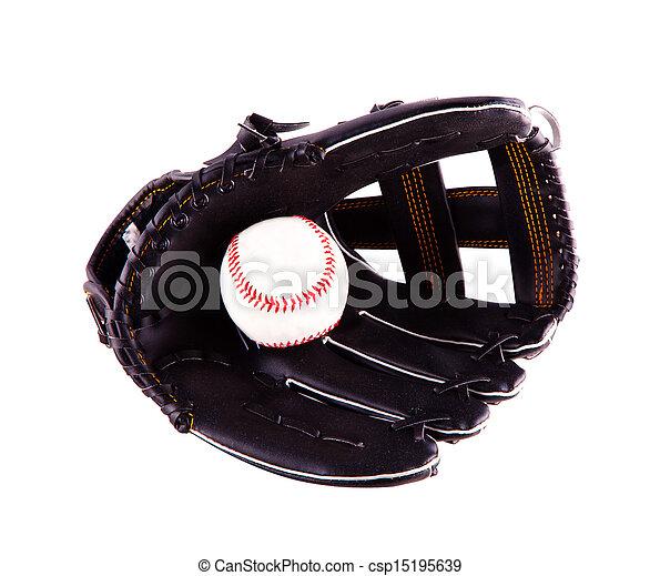 Baseball glove - csp15195639