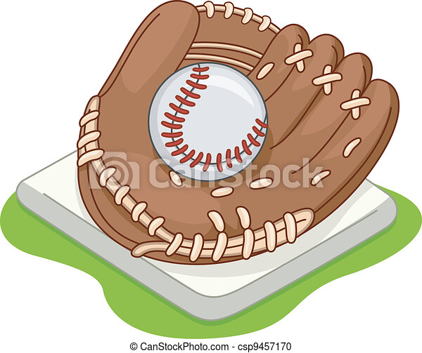 Baseball Glove - csp9457170