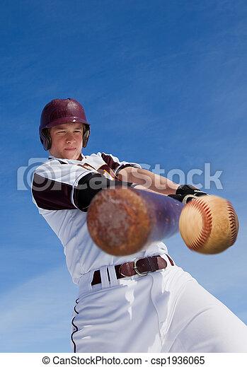 Baseball hit - csp1936065