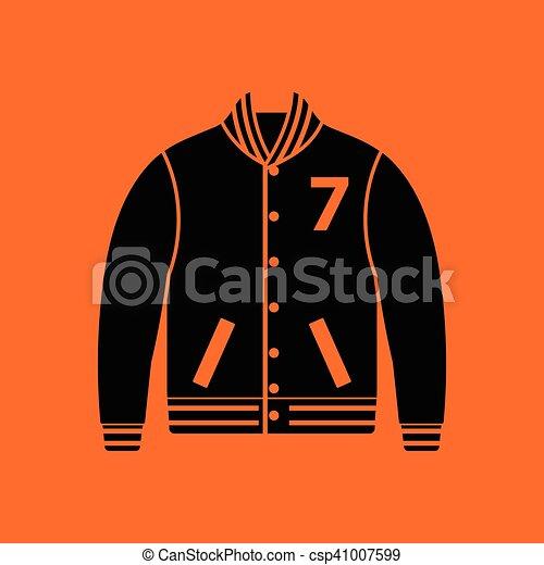 Baseball jacket icon - csp41007599