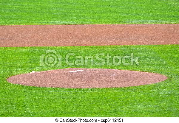 Baseball Mound - csp6112451