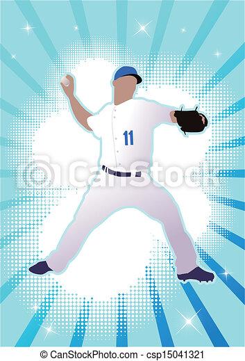 baseball player - csp15041321