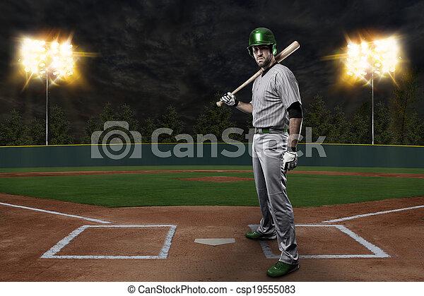 Baseball Player - csp19555083