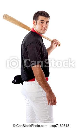 Baseball Player - csp7162518