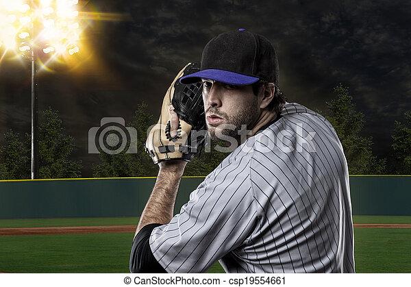 Baseball Player - csp19554661