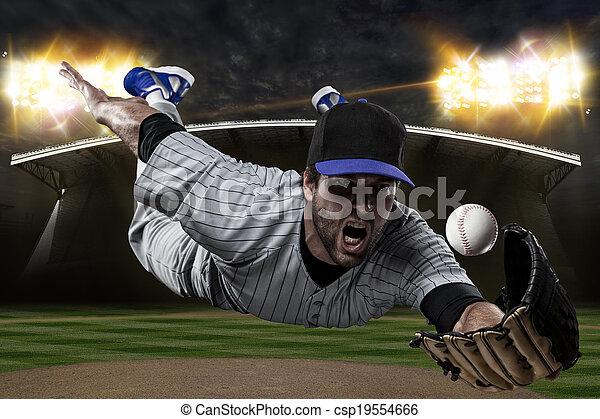 Baseball Player - csp19554666
