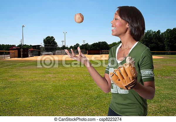 Baseball Player - csp8223274