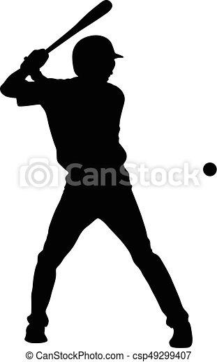 baseball player vector rh canstockphoto com baseball player vector free download female baseball player vector