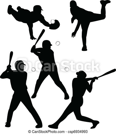 baseball players vector vectors search clip art illustration rh canstockphoto com baseball player vector free baseball player vector free