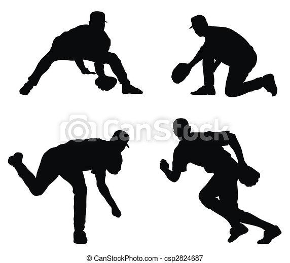 Baseball players - csp2824687