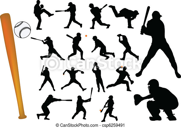 baseball players - csp6259491