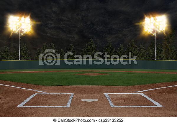Baseball Stadium - csp33133252