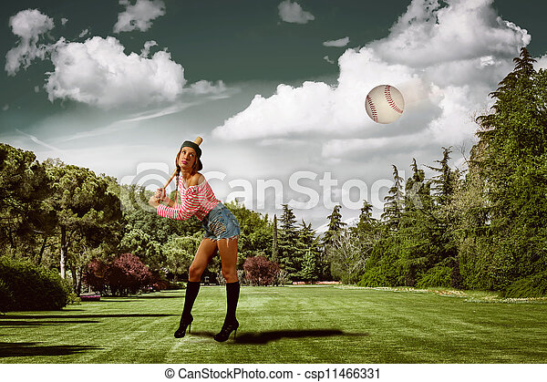 Baseball - csp11466331