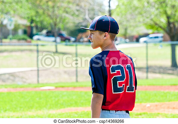 Baseball Teen Boy Young Teen Baseball Player