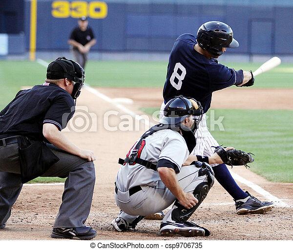 baseball teig, schwingen, right-handed - csp9706735