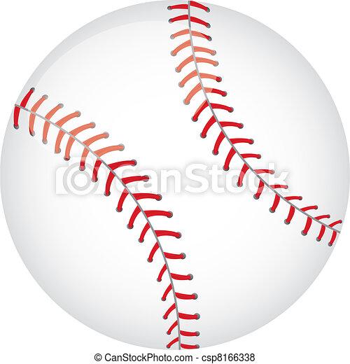 baseball vector - csp8166338