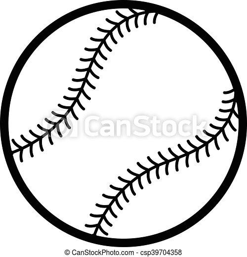 baseball vector icon rh canstockphoto com basketball vector art free basketball vector art free