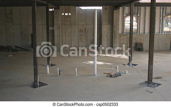 Basement Construction - csp0502333