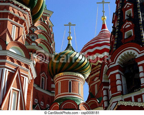 basilic, cathédrale, rue. - csp0008181
