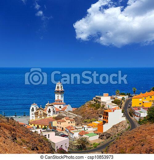 Basilica de Candelaria in Tenerife at Canary Islands - csp10853973
