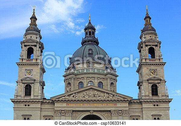 Basilica in Budapest - csp10633141