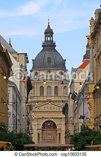 Basilica in Budapest - csp10633135
