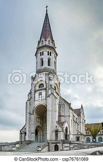Basilica of the visitation, Annecy, France - csp76761069