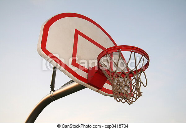 Baskeball Hoop - csp0418704